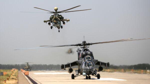 ВКС получили два новейших вертолета Ми-28НМ