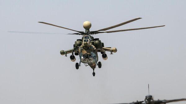 Ударные вертолеты Ми-28Н Ночной охотник