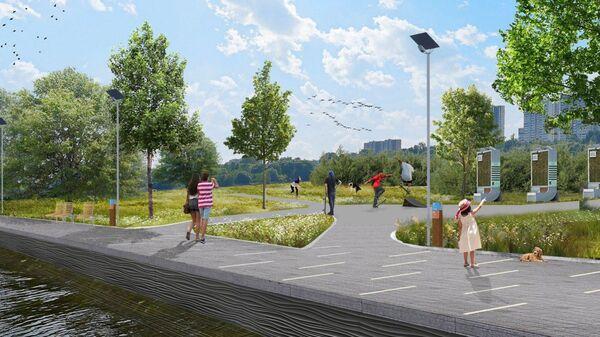 Проект парка в Капотне