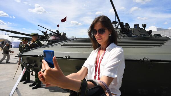 Открытие международного военно-технического форума Армия-2019