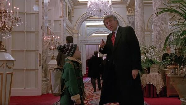 Дональд Трамп в фильме Один дома 2: Потерявшийся в Нью-Йорке