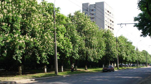 Проспект Маршала Жукова в Харькове