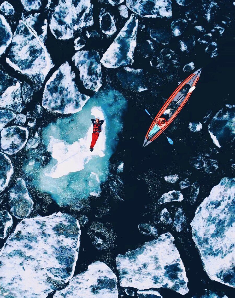 Таяние льдов на Байкале