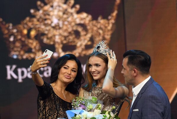 Победительница 25-го фестиваля красоты и талантов Краса России-2019 Анна Бакшеева