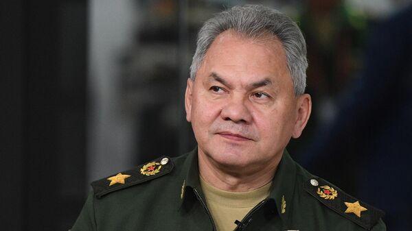 Министр обороны РФ Сергей Шойгу на V Международном военно-техническом форуме Армия-2019
