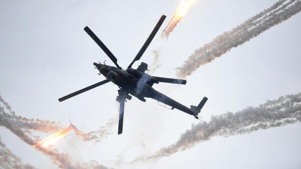 Вертолет Ми-28Н на Международном военно-техническом форуме Армия-2019