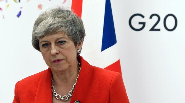 Премьер-министр Великобритании Тереза Мэй на полях саммита Группы двадцати в Осаке. 28 июня 2019
