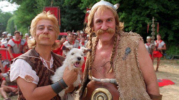 Кадр из фильма Астерикс и Обеликс против Цезаря