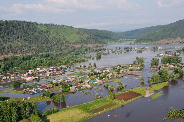 Паводок в Иркутской области