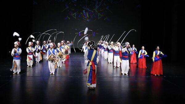 Южнокорейский ансамбль Хан-нури (Единый мир)