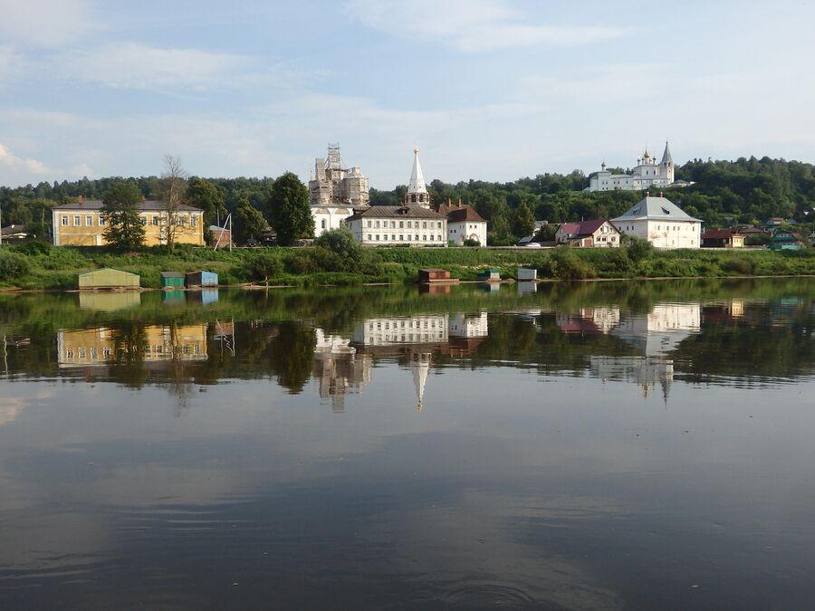 Вид на улицу Набережная, Гороховец