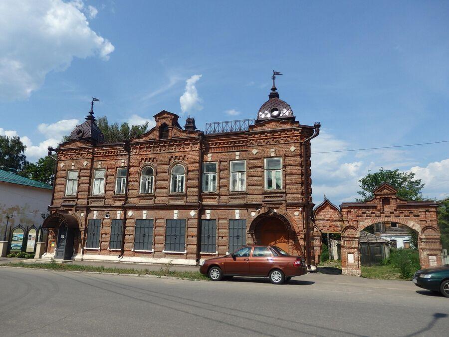 Дом купца Семенычева. Гороховец