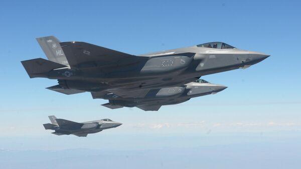 Истребители ВВС США F-35A Lightning II