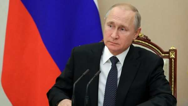 Путин обсудил с членами Совбеза отношения с Украиной