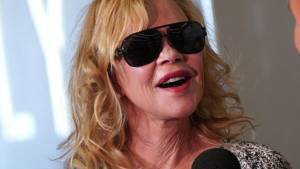 Мелани Гриффит в Лос-Анджелесе