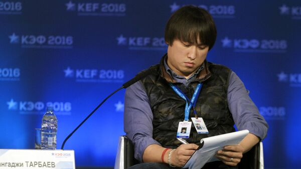 Председатель комиссии по поддержке молодежных инициатив Общественной палаты РФ Сангаджи Тарбаев