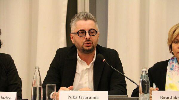 Генеральный директор телеканала Рустави 2 Николоз Гварамия