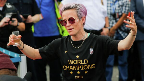 Американская футболистка Меган Рапино