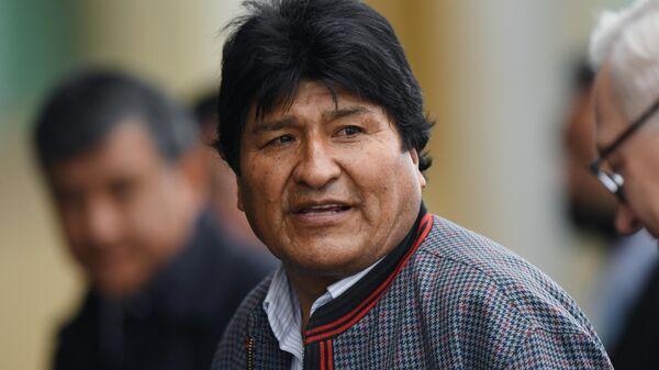 Президент Боливии Эво Моралес в аэропорту Внуково