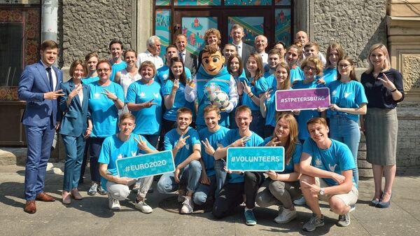 Отбор волонтеров на Евро-2020 в Санкт-Петербурге