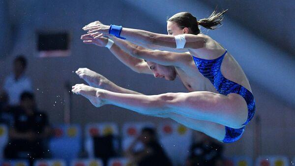 Екатерина Беляева и Виктор Минибаев (Россия) м