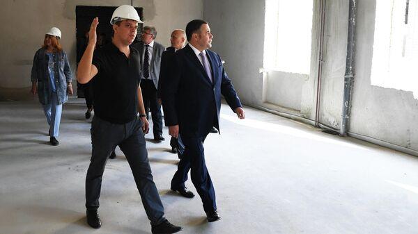 Губернатор Тверской области Игорь Руденя проинспектировал ход строительных работ