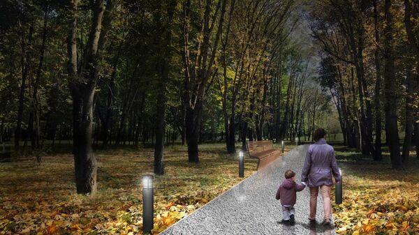 Проект благоустройства парка Победы в Зеленограде