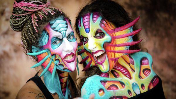 Международный фестиваль бодиарта в Австрии