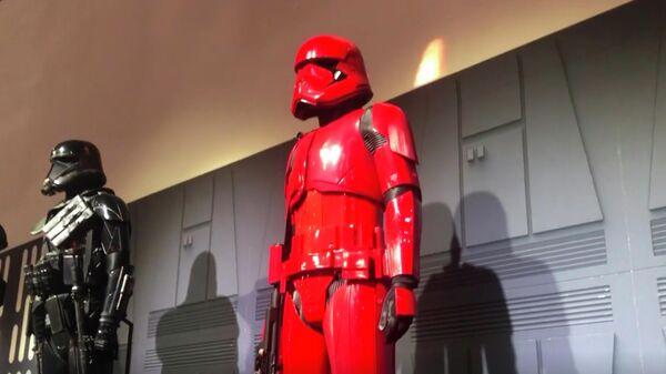 Новый костюм ситха в новой части фильма Звёздные Войны: Скайуокер. Восход