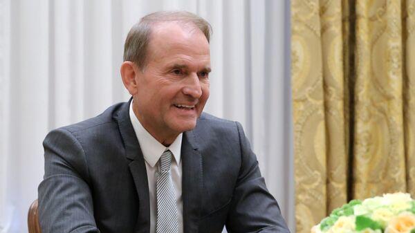 Глава политического совета партии Оппозиционная платформа - За жизнь Виктор Медведчук