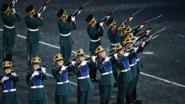 Оркестр роты специального караула Президентского полка Службы коменданта Московского Кремля Федеральной Службы охраны РФ