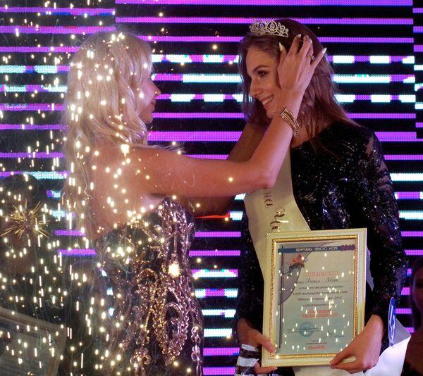 Победительница  23-го Международного конкурса красоты Жемчужина Черного моря - 2019 в Севастополе Ксения Соболь