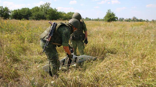Народная милиция ЛНР сбила ударный беспилотный летательный аппарат украинских силовиков. 22 июля 2019