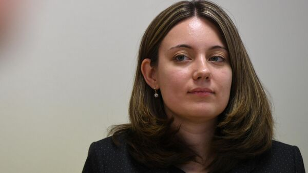Замглавы Министерства экономического развития РФ Полина Бадасен