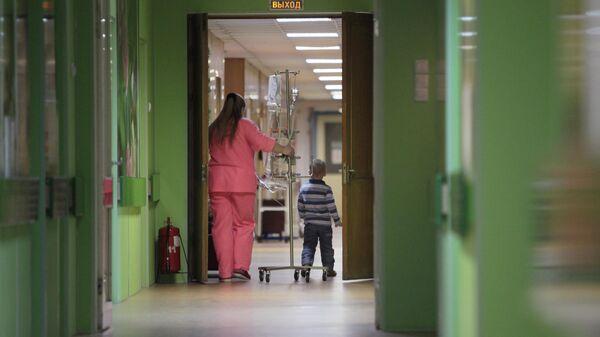 Деткое отделение городской больницы