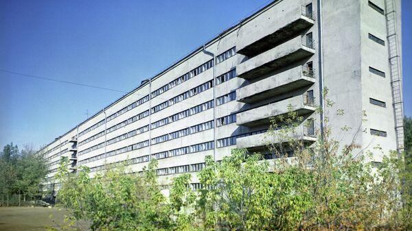 Жилой дом Наркомфина на улице Чайковского
