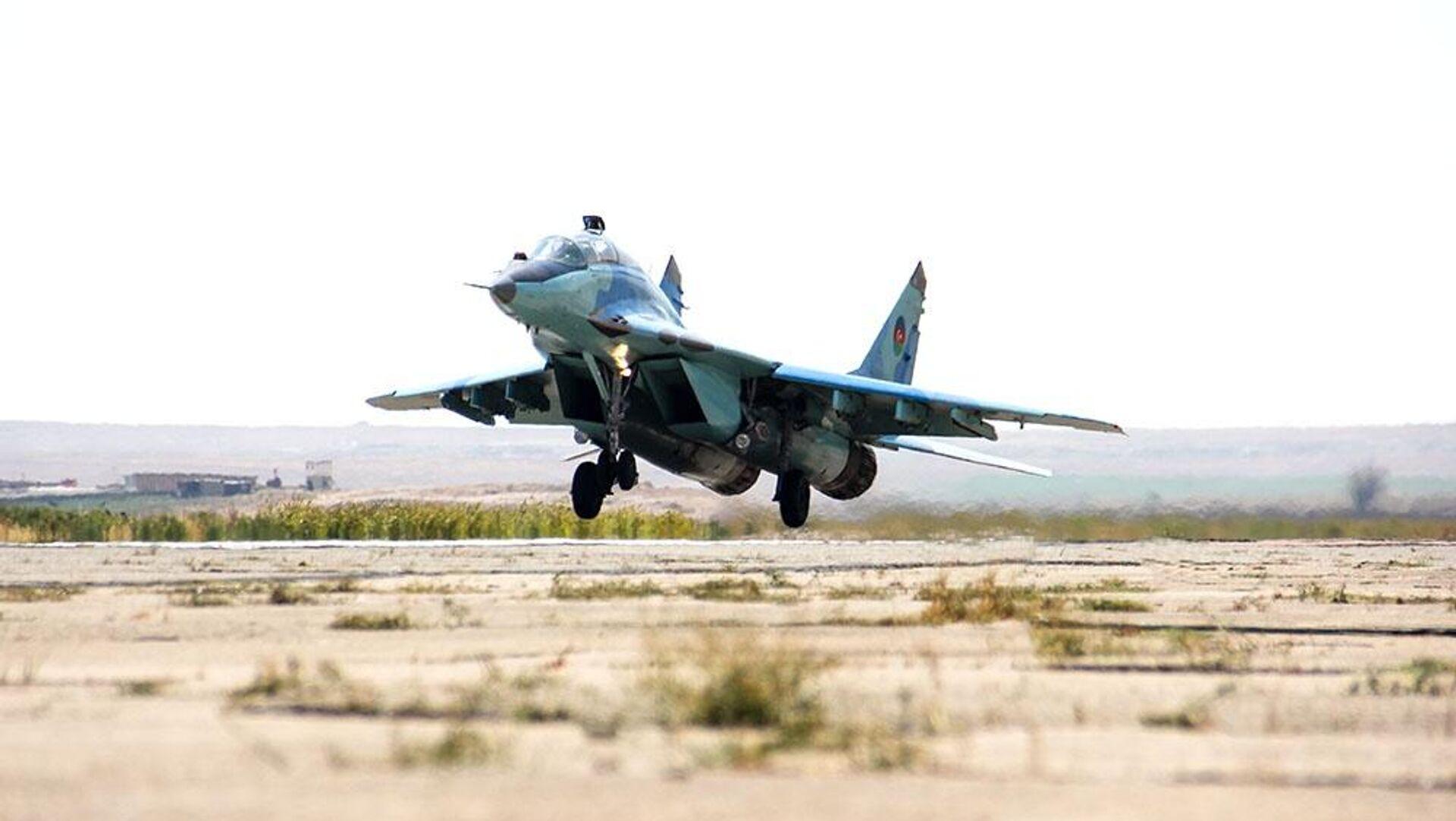 Истребитель МиГ-29 ВВС Азербайджана - РИА Новости, 1920, 03.10.2020