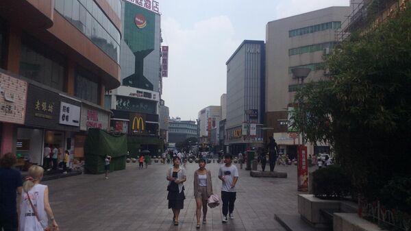 Город Хэфэй (Китай), центральная улица