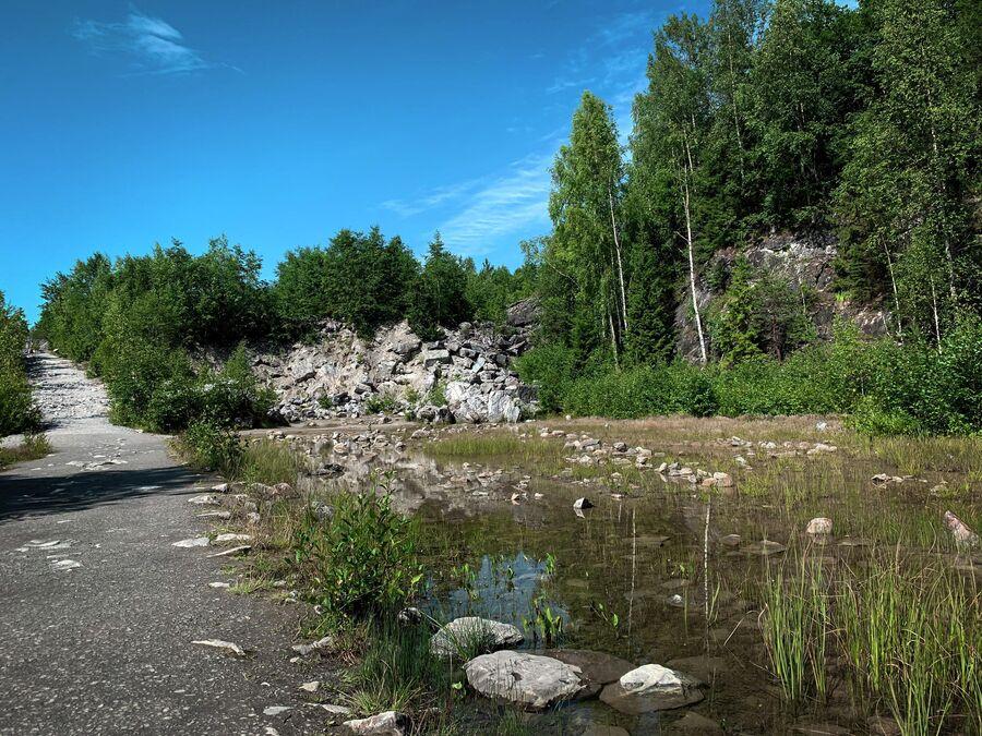 Карелия. Горный парк Рускеала.