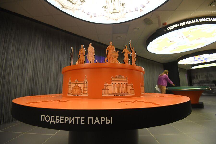 Экспонат в музее ВДНХ в Москве