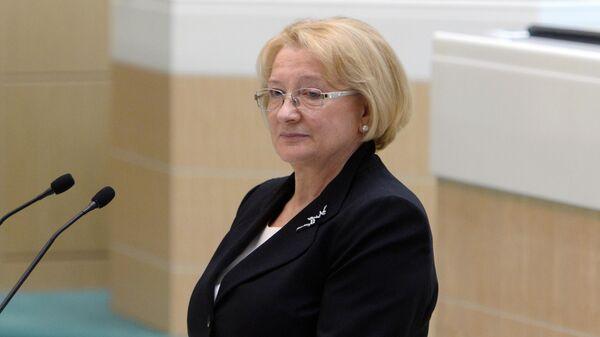 Заместитель председателя Конституционного суда РФ Ольга Хохрякова