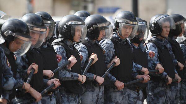 Несанкционированное акция в поддержку незарегистрированных кандидатов в Мосгордуму