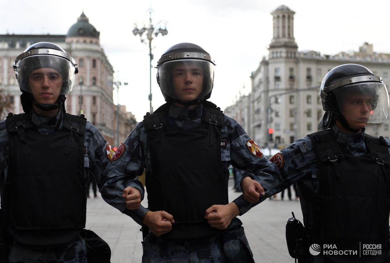 Департамент здравоохранения Москвы: после незаконного митинга в больнице остается 1 человек