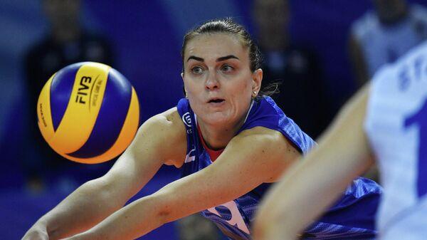 Волейболистка сборной России Алла Галкина