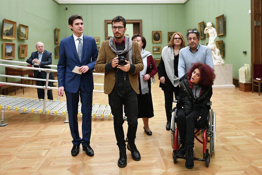 Летиция Ренис посетила Третьяковскую галерею