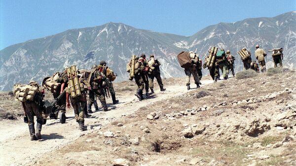 Подразделения ВДВ РФ на территории Дагестана в 1999 году
