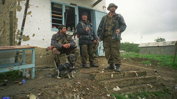 Члены отряда самообороны в Дагестане