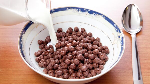 Шоколадные шарики с молоком
