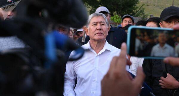 Бывший президент Киргизии Алмазбек Атамбаев