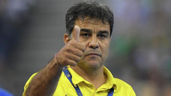 Главный тренер женской сборной России по гандболу испанец Амброс Мартин